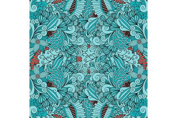 Beautiful background composed of geometric designs example image 1