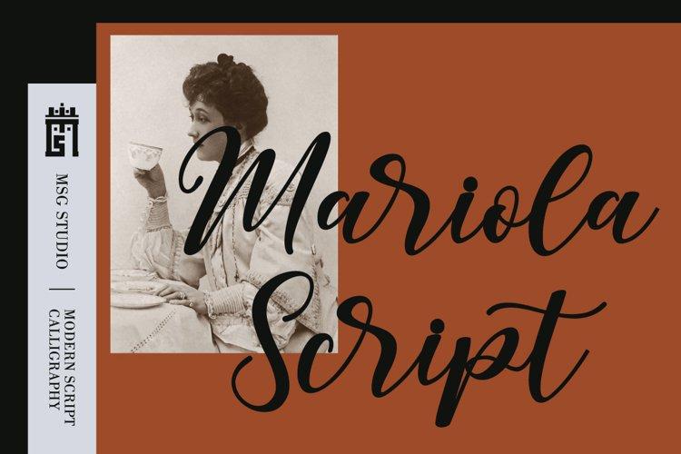 Mariola Script example image 1