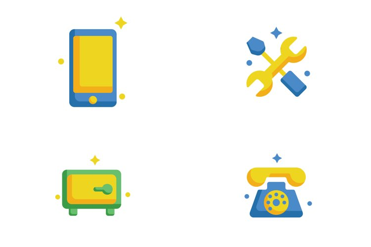 Full Color 0.6 Bundle Business Icon