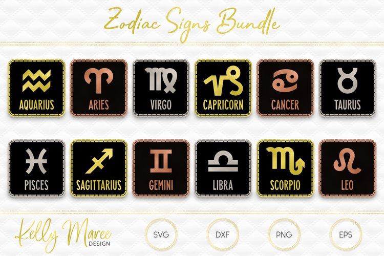 Zodiac SVG File Bundle