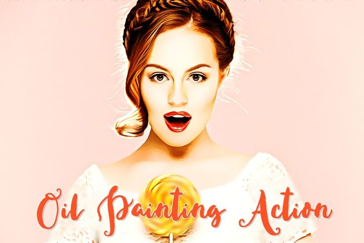 Oil Painting Action example image 1