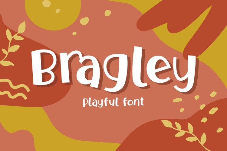 Bragley Font with Extra example image 1