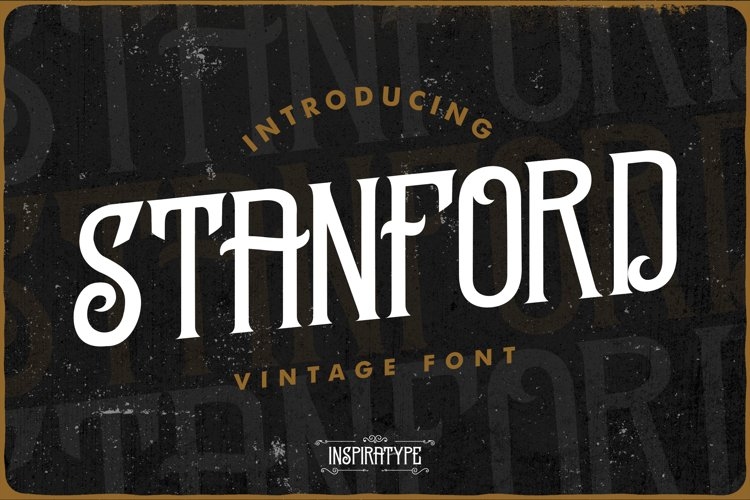 Stanford - Vintage Font example image 1