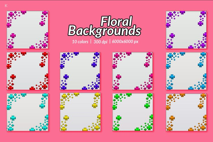 Floral Backgrounds example image 1