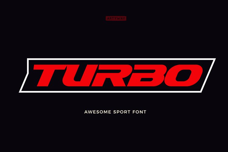 Turbo Sport Font example image 1