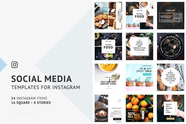 Instagram Social Media Templates example image 1