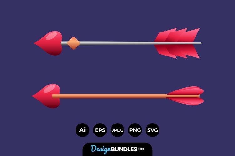 Cupid Arrow Illustrations