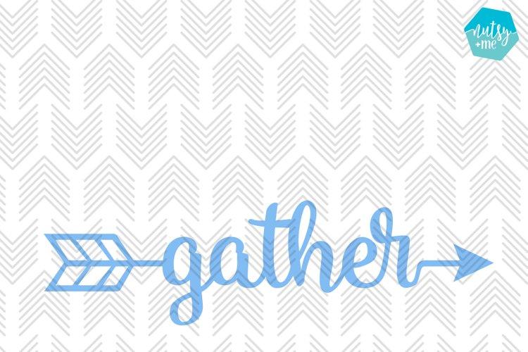 Gather Arrow - SVG, AI, EPS, PDF, DXF & PNG FILES