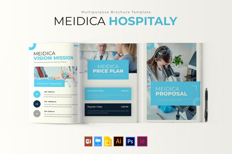 Meidica Hositaly | Proposal Template example image 1