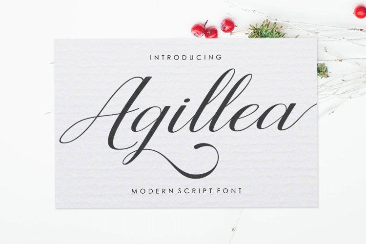 Agillea Script example image 1
