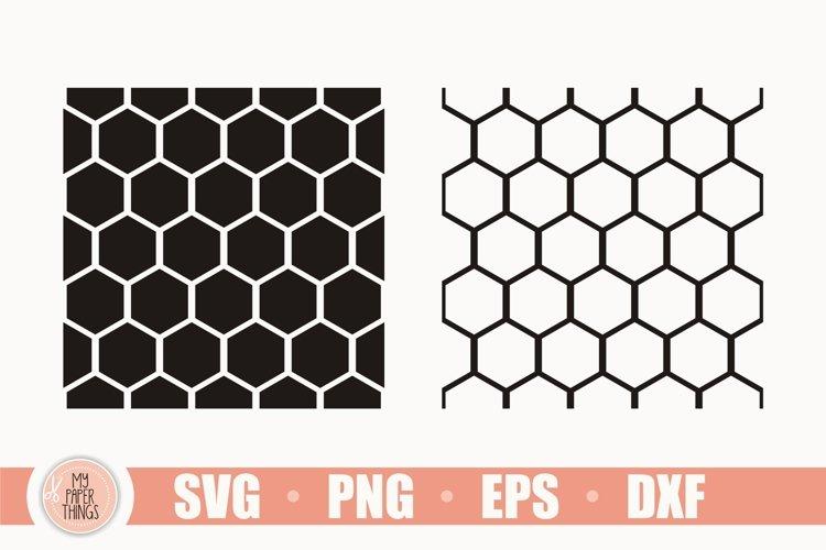 Seamless Pattern SVG Bundle, Honeycomb Svg