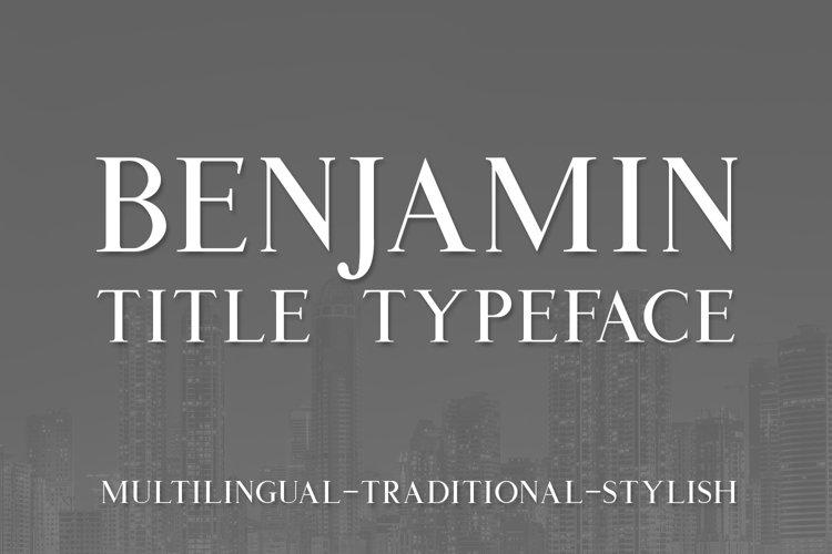 Benjamin Title