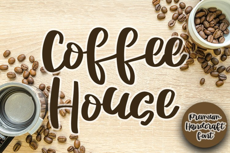 Coffee House - Special Script Font example image 1