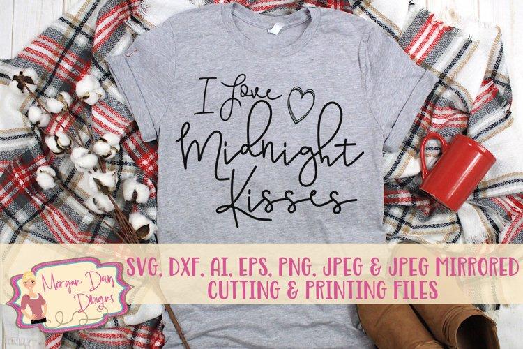 I Love Midnight Kisses SVG, DXF, AI, EPS, PNG, JPEG