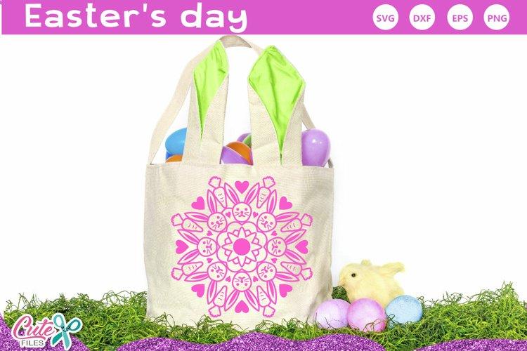 Easter Mandalas SVG file for crafter