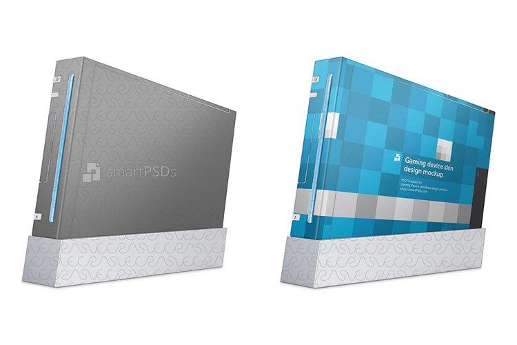 Nintendo Wii Skin Decal Design Template 2006 example image 1