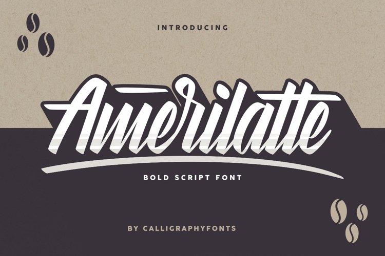 Amerilatte example image 1