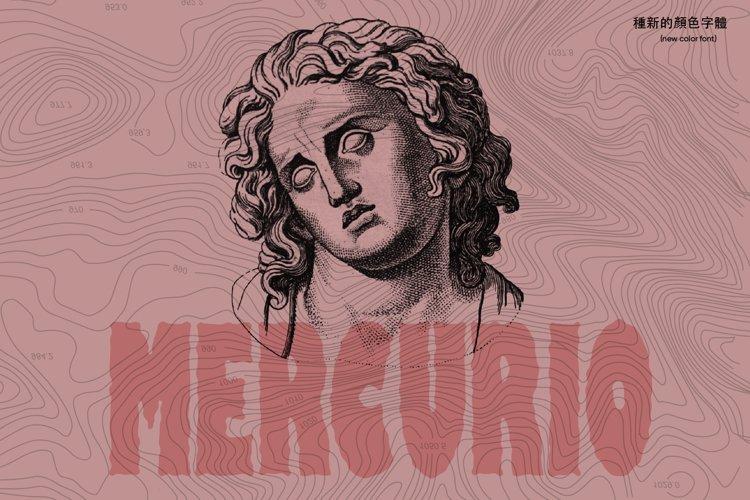 Mercurio Font example image 1