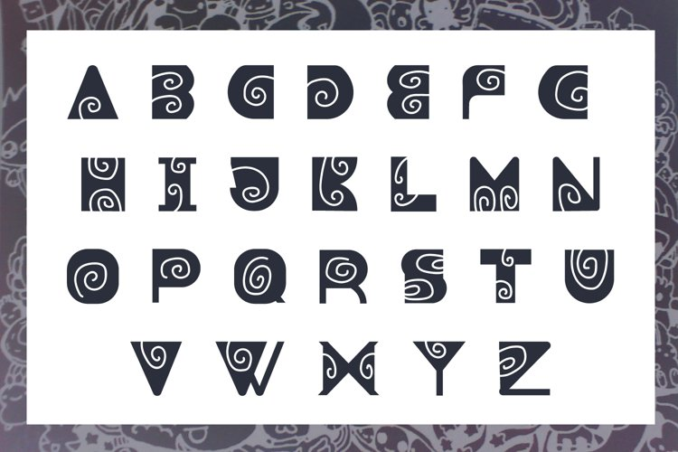 Boomer - Fun Font for Cute Projects example 1
