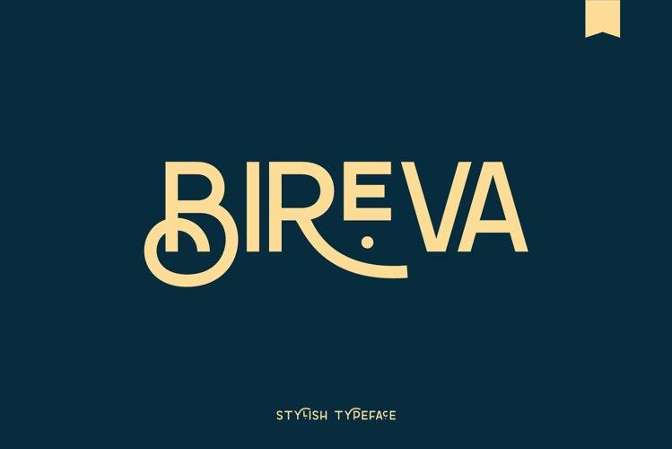Beriva Sans - Stylish Typeface example image 1
