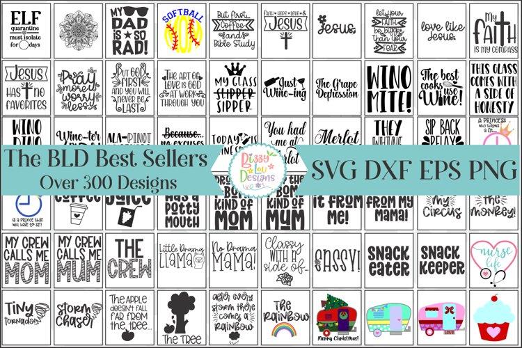 The BLD Best Seller SVG Bundle - Huge SVG Bundle