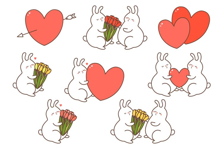 Romantic rabbits