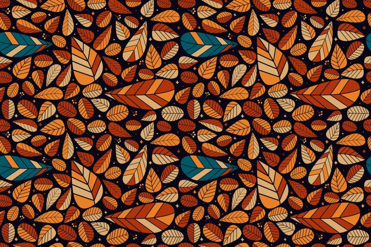 Autumn Leaves Pattern example image 1