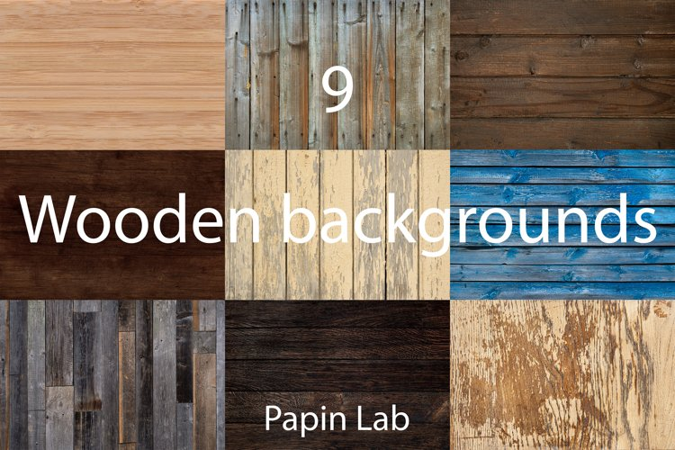 Old rustic wooden backgrounds and grunge textures.