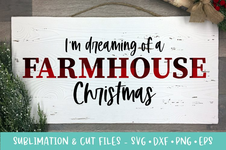 Farmhouse Christmas Sublimation & Cut Files example image 1