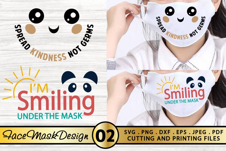Mask SVG Bundle Face Mask SVG PNG EPS DXF Nurse Mask SVG example image 1