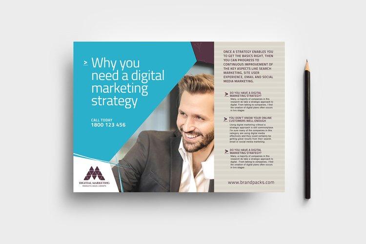 Digital Marketing Flyer Template example image 1