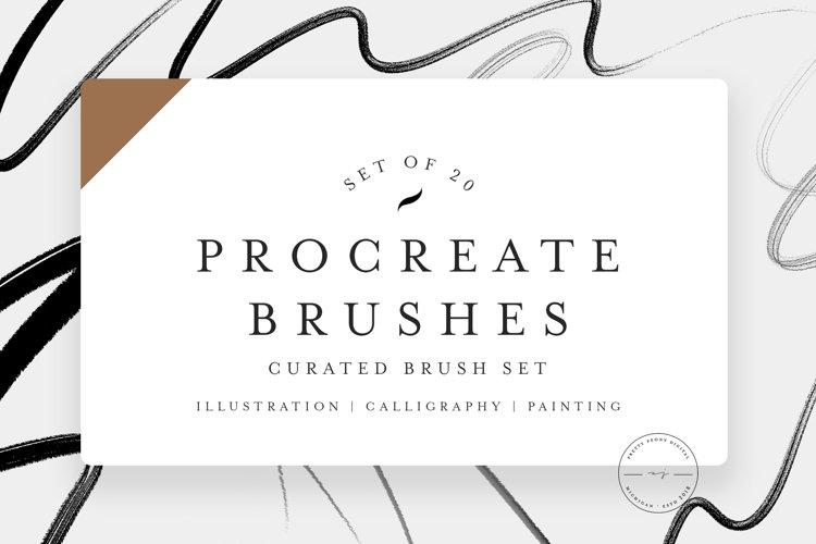 20 Procreate Brush Bundle