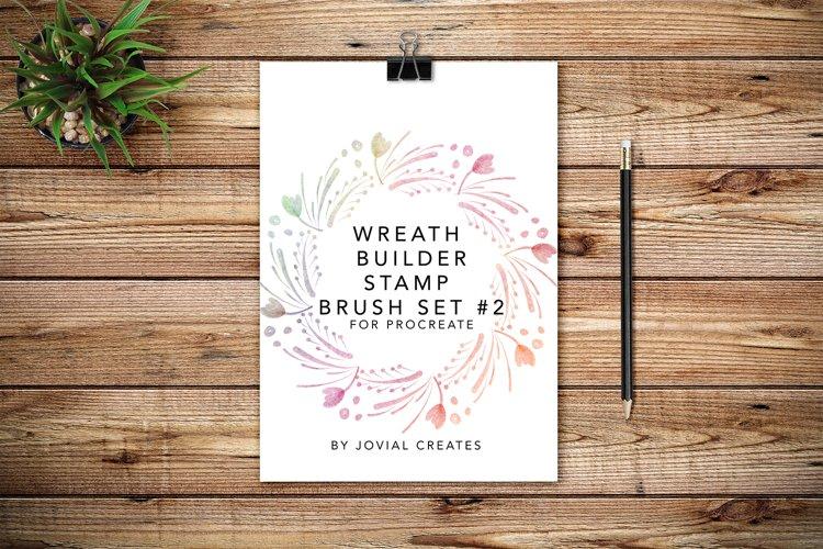 Wreath Builder Stamp Brush Set #2 for Procreate