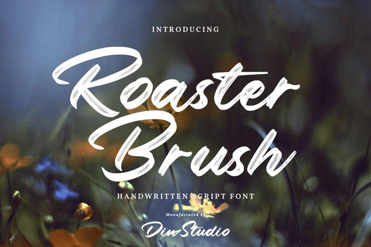 Roaster Brush-Elegant Handwritten Font example image 1