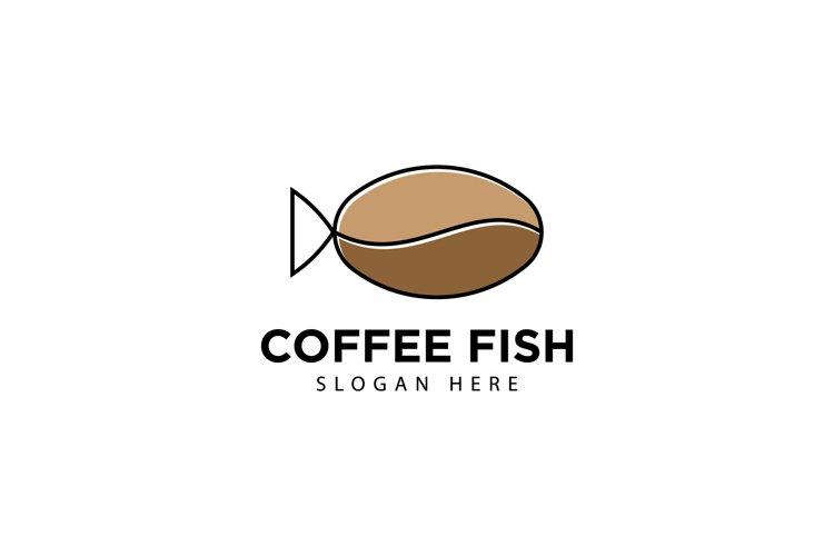 Coffee Fish Logo example image 1