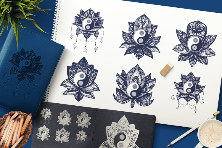 Yin Yang In Lotus example image 1