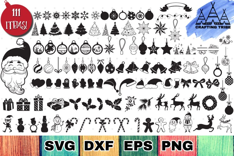 Christmas Bundle with 111 SVG Cut Files