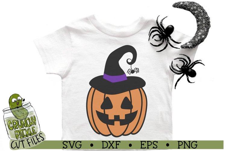 Pumpkin Witch Halloween SVG Cut File
