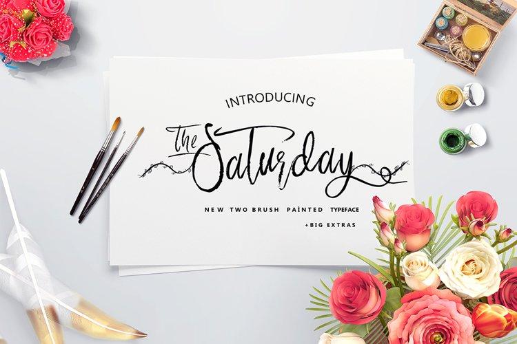 Saturday & Swashes example image 1