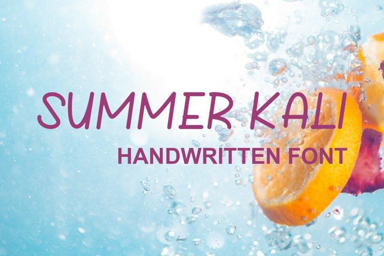 Summer Kali example image 1