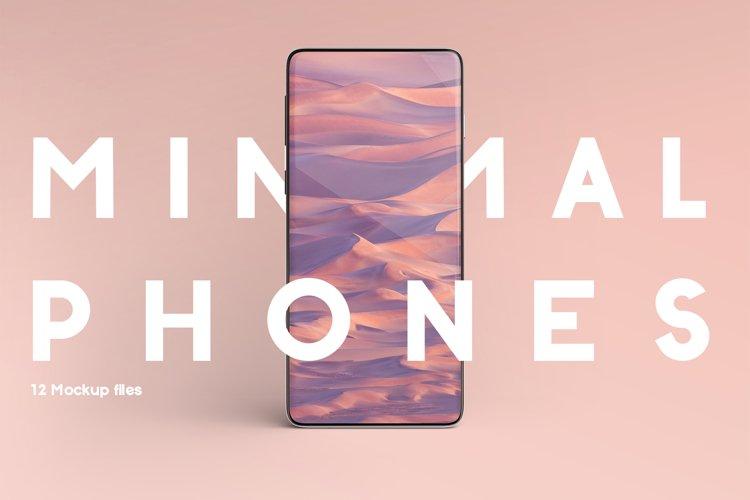 Minimal Phones Mockup Kit