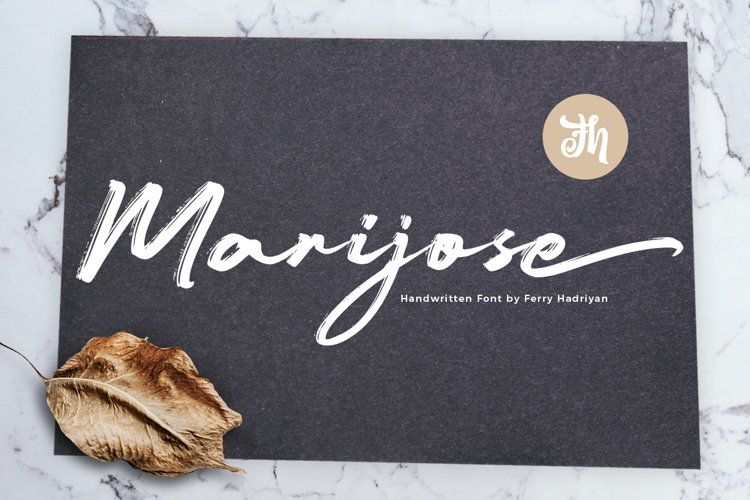 Marijose - Handwritten Font example image 1