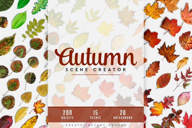 Autumn Scene Creator #01 example image 1