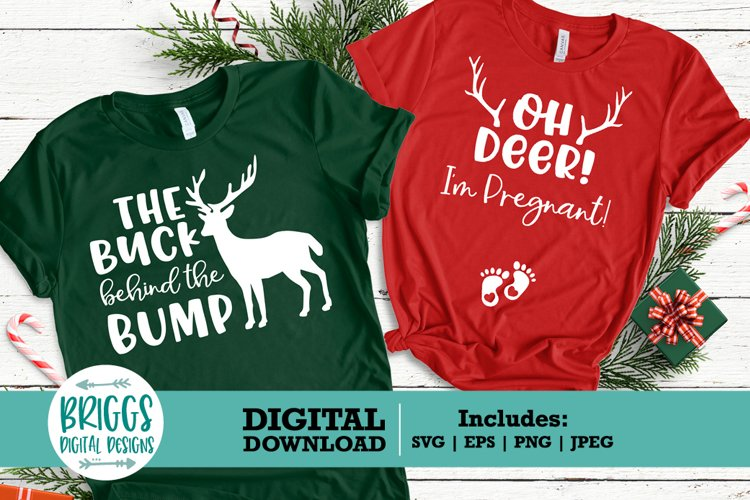 Pregnancy Announcement svg | Baby announcement, Oh deer svg example image 1