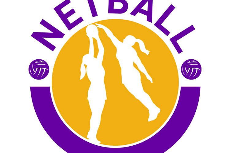 Netball player shooting blocking the shot example image 1