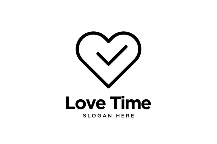 Love Time Logo example image 1