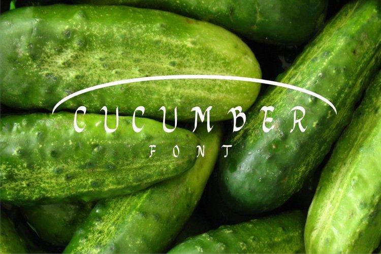 cucumberfont