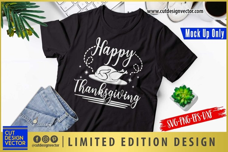 Happy Thanksgiving SVG, Thanksgiving SVG example image 1