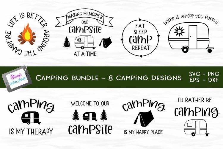 Camping Bundle - 8 camping SVG designs