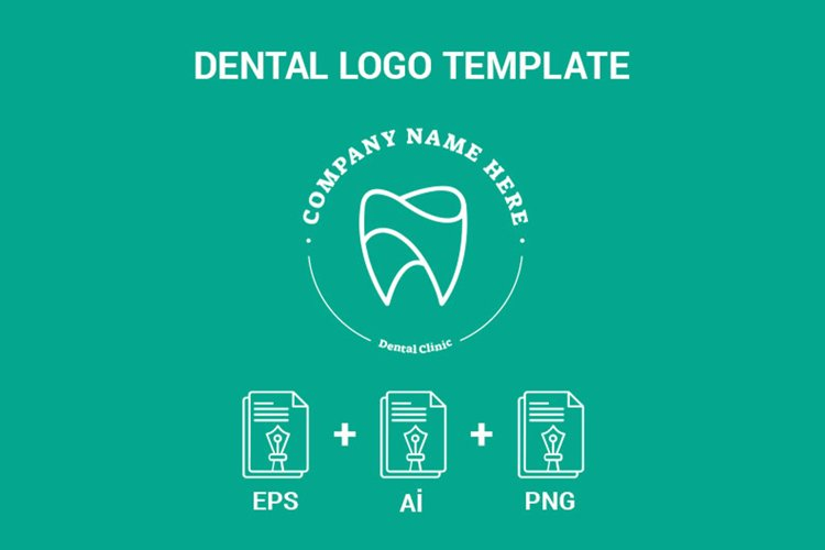 Dental Logo Template example image 1